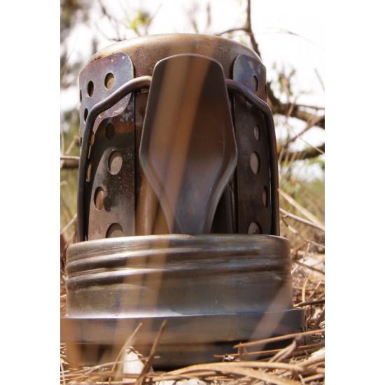 """Hobo"" camping wood stove"